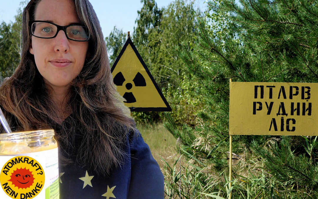 """35 Jahre Tschernobyl und die Frage """"Was haben Obstbrei im Glas und der 35. Jahrestag der Katastrophe gemeinsam""""?"""