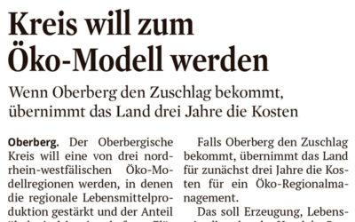 Oberberg als Öko-Modellregion